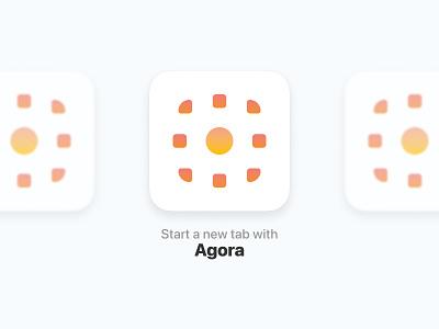 Agora Icon Design icon design