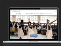 Teach Rwanda Landing Page