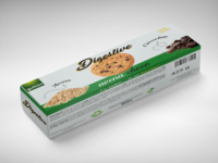 Packaging Gullòn Digestive cookies