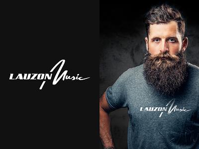 Lauzon Music Logo Design branding wordmark brand identity brand design brand logo design logo
