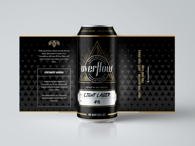 Beer Can Design packaging drink silver gold beverage product logo brand wrap label can beer