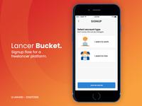 Lancer Bucket - Signup