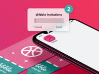2 dribble invitations !