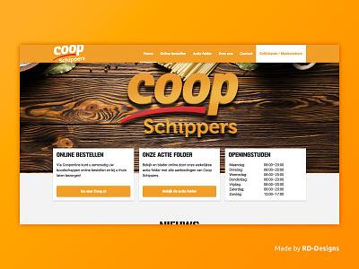 Supermarktodoorn.nl website UX/UI and development logo website development ux ui design web webdesign supermarket
