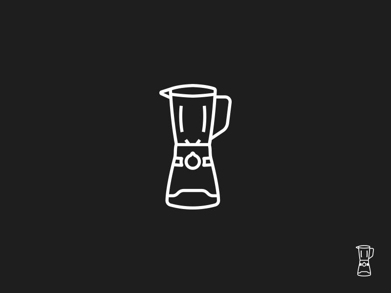Blender | Icon Study blender logo illustration art graphic mark symbol lineicon lineart ui icon