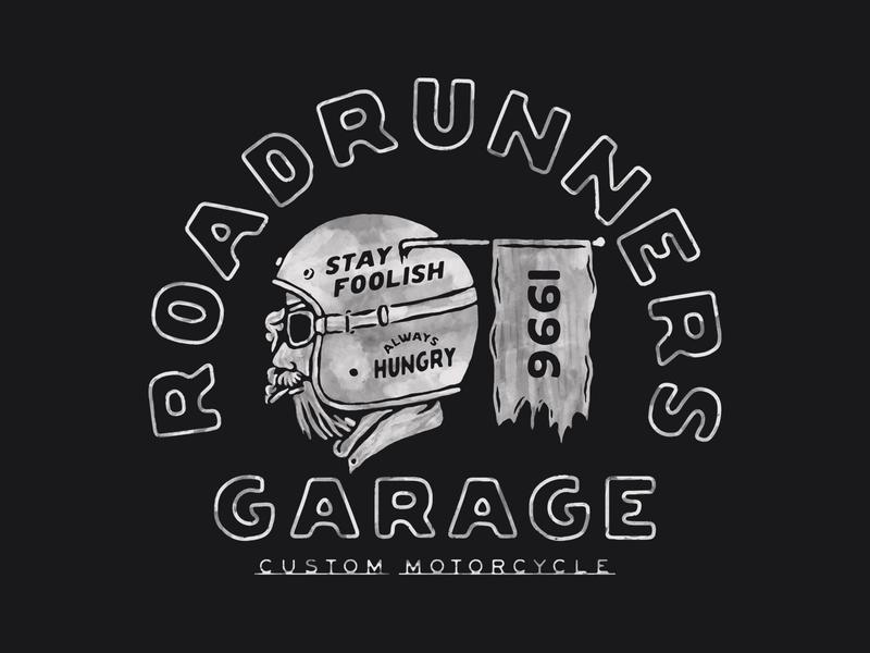 Roadrunners design availble design for sale vintage badge t-shirt design branding illustration badge design vintage