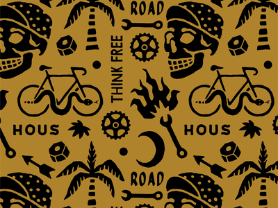 Bike Pattern badges handdrawn vector vintage badge t-shirt design branding illustration badge design vintage bicycle bike