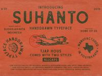 Suhanto Handdrawn Typeface