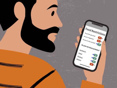 A Spotify for Meals | #Food order food app food video animated