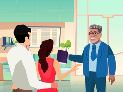 Solve your tax problems money taxes illustration design animated video production animated marketing videos animated explainer video