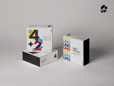 Uno Cards CMYK Edition logo illustration vector colors branding cmyk color games card design cards uno packagedesign design creative