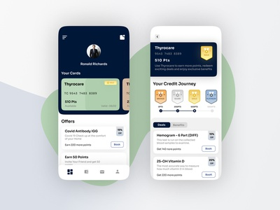 Loyalty Cards App design cards ui cards minimal web ui loyalty app loyalty cards branding creative agency vector uidesign colors design creative