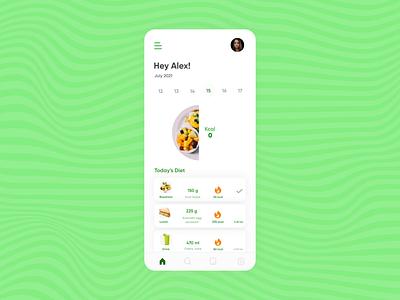 Food Journal App ux design branding motion graphics graphic design ui animation vector creative agency uidesign colors design creative