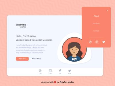Designer Portfolio Web Design