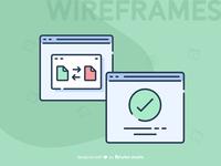 Creative Wireframe Design
