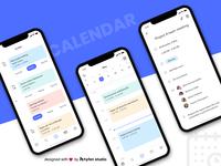 Calendar App Concept UI