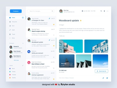 Email Client UI