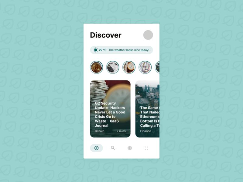 News App Concept concept ui news app news