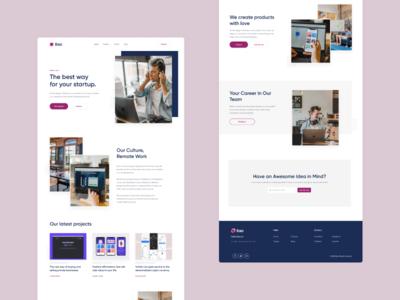 Ilao Website Redesign ui redesign website