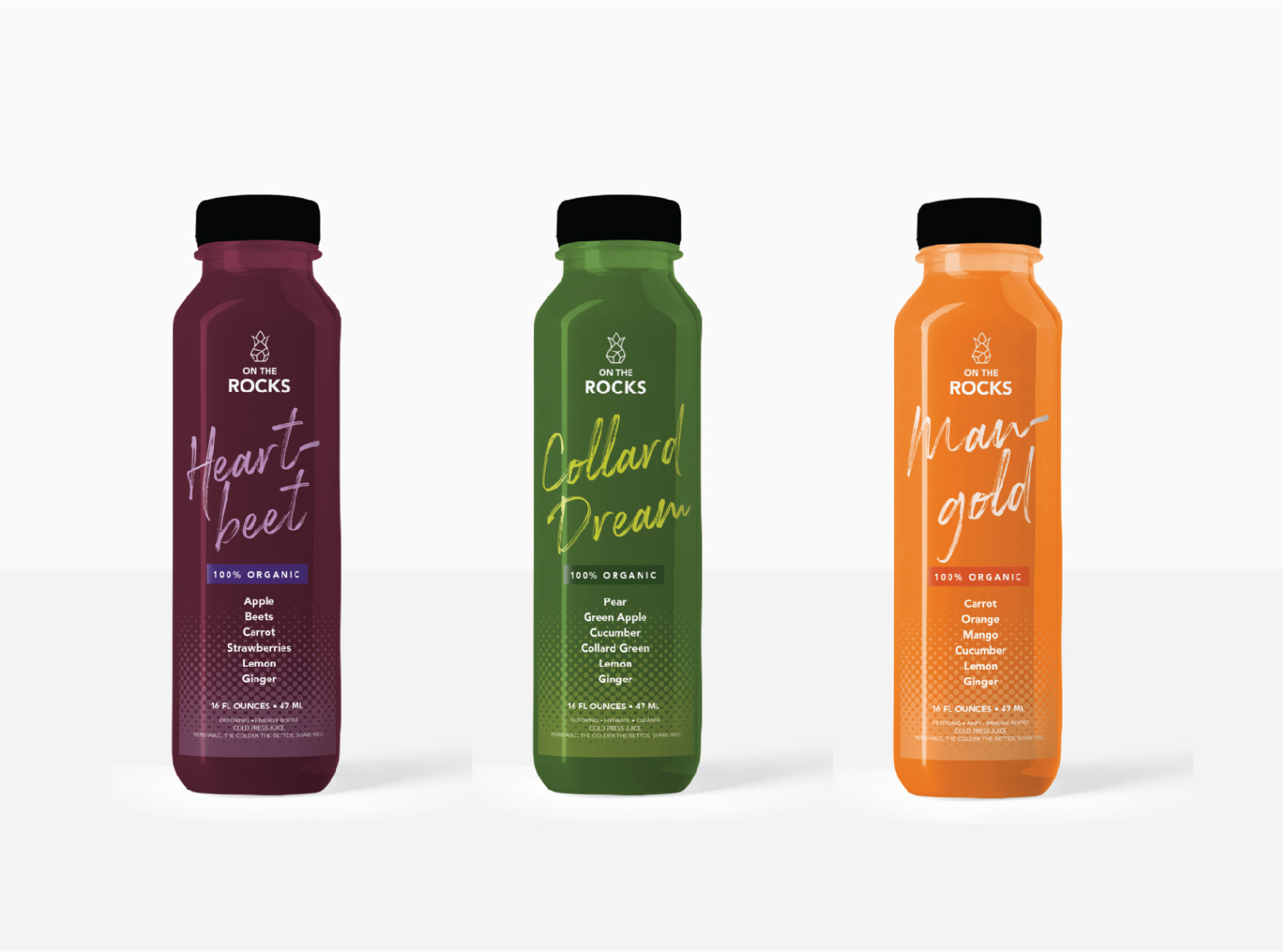 On The Rocks Juice Mock Up Labels By Sharese Hendricks On Dribbble