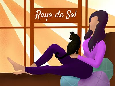 Rayo de Sol 🎶 songpreview albumart music instagram art dribbble happy smile graphicdesigner graphicdesign digitalart iillustrationartists ipadpro procreate vector illustration