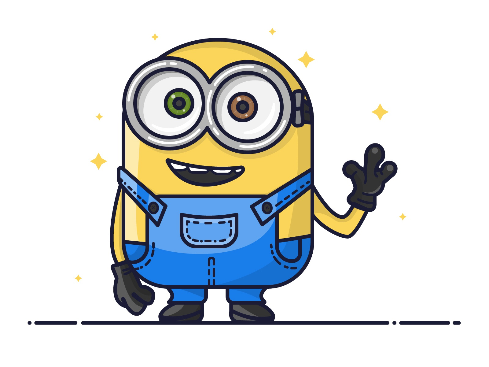 Dribbble Minion Bobjpg By Manali