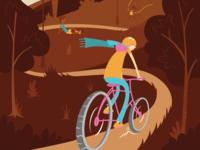 Seattle Summer Cyclist