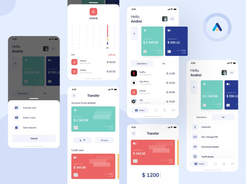 Lokobank / Part 1 fintech app fintech mobile app design mobile design mobile app mobile ui mobile