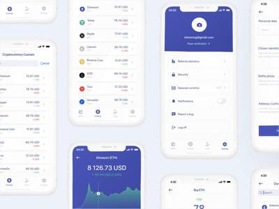 BitcoinApp bitcoin bitcoin wallet bitcoins mobile app design mobile design mobile ui mobile app mobile