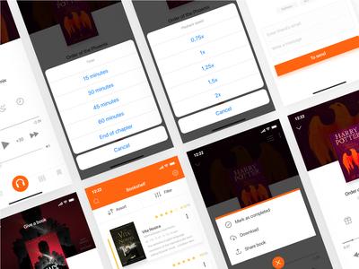 Redesign concept Storytel / 2 Shot 🎧🎧🎧