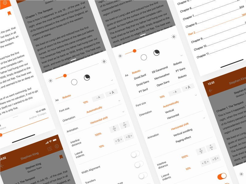 Redesign concept Storytel / 3 Shot 🎧🎧🎧 mobile interface ui ux design