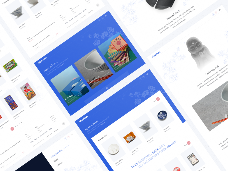 Obachan uidesign ux ui interaction inspiration web design website web design