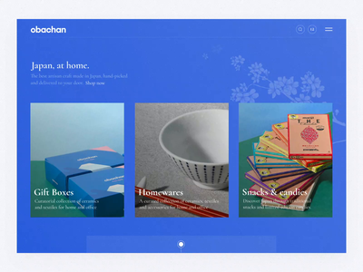 Obachan / Part Two animation design web animation after effects animation interface ux ui design