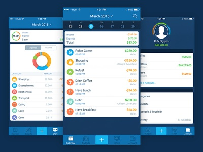 Best Savings App - Free PSD Download anna molly
