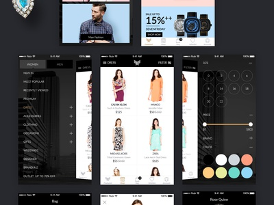 Indeux - Fashion Store - Free Sketch File Download