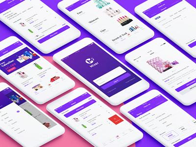 Mixer - Cosmetics Shop UI ecommerce cosmetic shop nguyen rubi