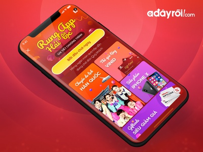 Mini Game: Shake App Get Lucks Adayroi.com minigame adayroi.com rubinguyen rubi