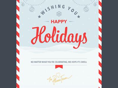 Christmas Phuseletter email newsletter christmas holidays seasonal snow