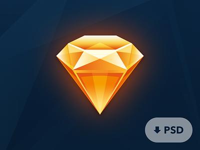 PSD Sketch Icon psd sketch icon photoshop diamond shape layers layered