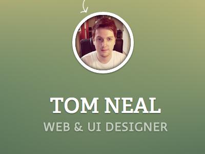 Site update.... again. splash website profile avatar circle