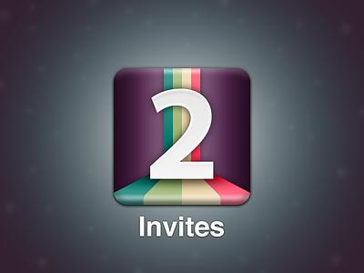 Dribbble Invite Giveaway! app icon 2 invitation ios invites draft