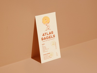 Atlas Bagels Menu