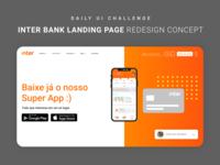 Daily UI 03 - Landing Page design branding ui web flat clean minimal