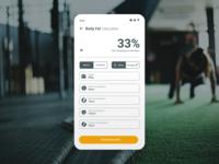 Daily UI 04 - Calculator minimal web app flat design clean ux mobile ui
