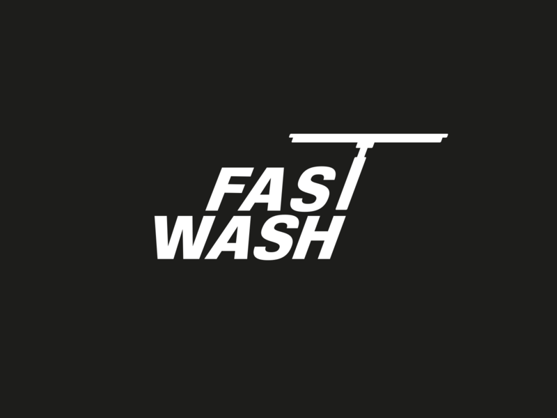Fast Wash Logo By Giorgi On Dribbble
