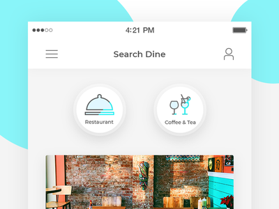 Search Dine - Restaturant light shade latest-icons chilled beer wine-bar cafe restaturant ciyan light-blue cross-shade icons new icon theme