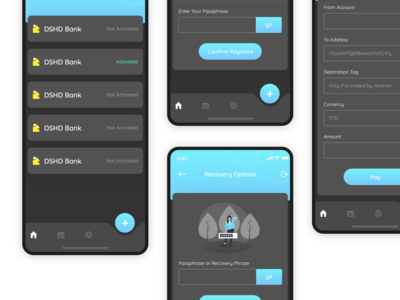 Crypto wallet - App Design