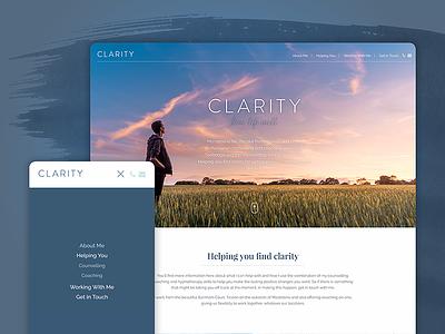 Clarity digital design web development css html jquery animation ux ui web design