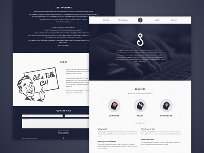 Fish 4 CV flat design digital design web development css html ux ui web design