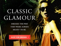 Fashion Project: Classic Glamour